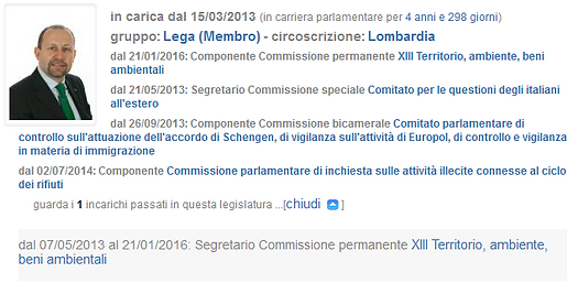 Paolo Arrigoni Lega Senato