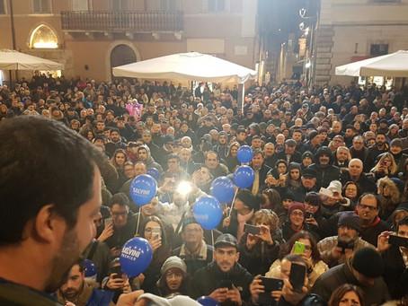 Marche: nostro successo grazie al progetto di Salvini