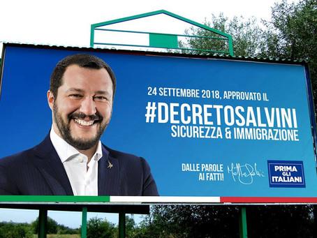 Decreto Salvini: lo Sprar inizierà davvero ad occuparsi di chi scappa dalla guerra