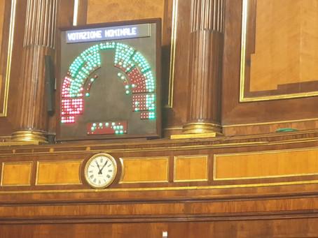 Il Senato approva la riduzione dei parlamentari. Un altro obiettivo raggiunto!