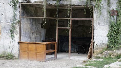 """Structure de l'épicerie """"in situ"""""""