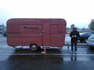 voyage vers Machemont sous le pluie