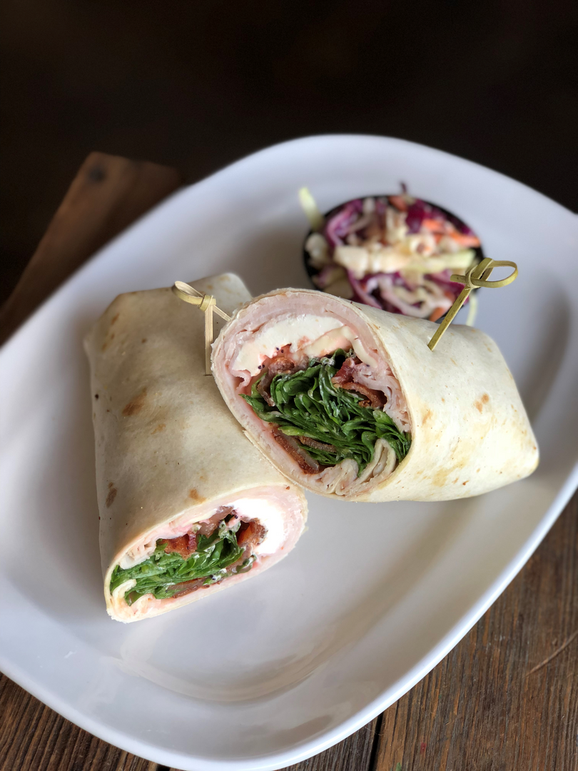 Bacon and Strawberry Wrap