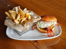 Sunny Bubba Burger with French Fries