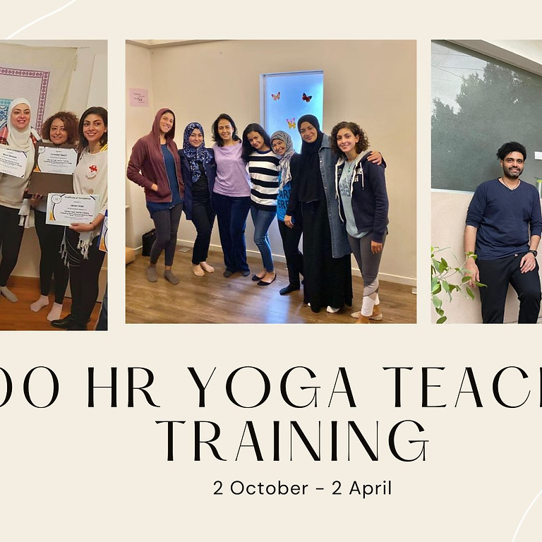300hrs Certified Yoga Teacher Training (200hrs foundation + 100hrs Adv)