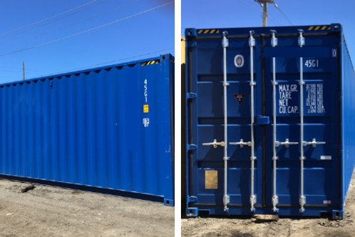 40'x9.6' New HC Containers