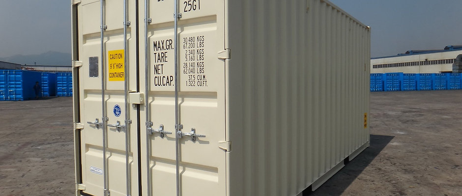 20'x9.6' HC New Containers