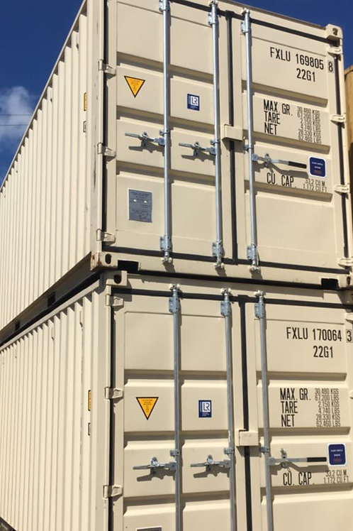 20'x8.6' DV New Containers
