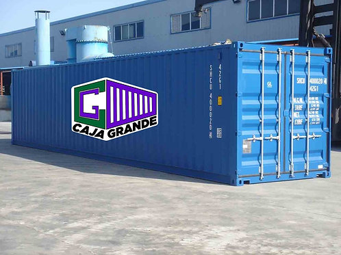 40'x9.6' Used HC Container