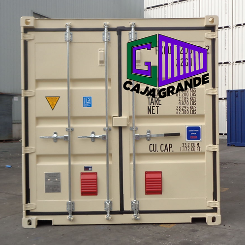 20'x8.6' DV Container NEW