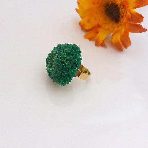 טבעת פרח חרצית