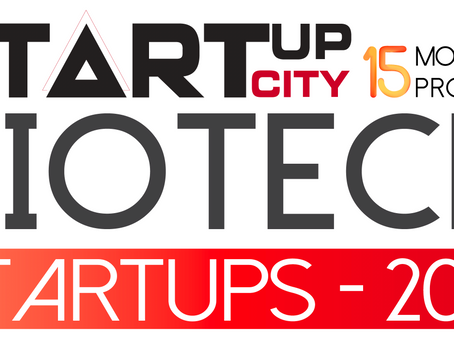 Capio Biosciences Featured in StartUpCity Magazine's 15 Most Promising Biotech Startups - 2019