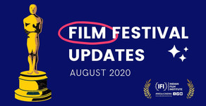 Film Festival & Market Updates: August 2020
