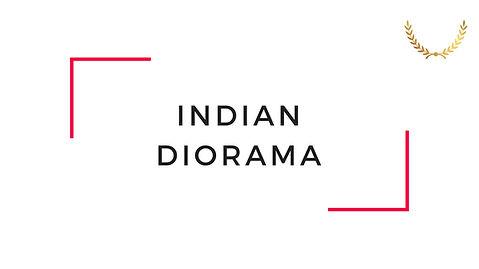 Indian Diorama