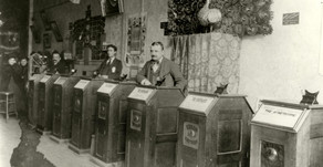 How First Cinemas in 1890's looked like