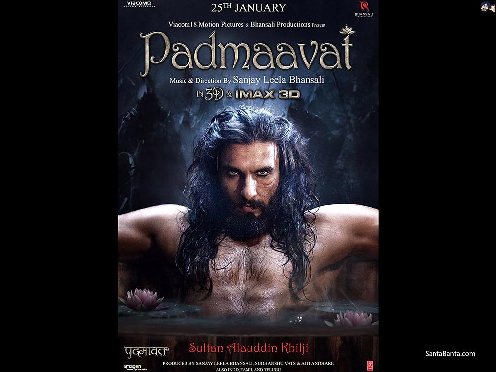 padmaavat 2018, ranveer singh, sanjay leela bhansali, deepika padukone, bollywood, shahid kapoor