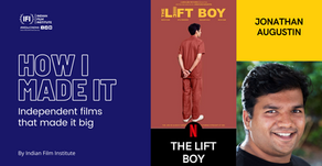 How I made it: The Lift Boy (2019)