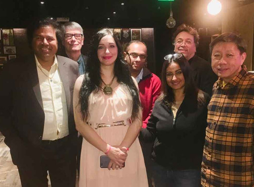 Divya Dutta Snapped With Nick Powell And Others At DIFFM