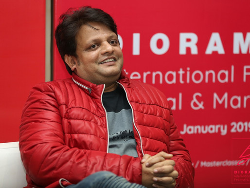 Film is a socio-economic product after all: Nitin Chandra at Diorama