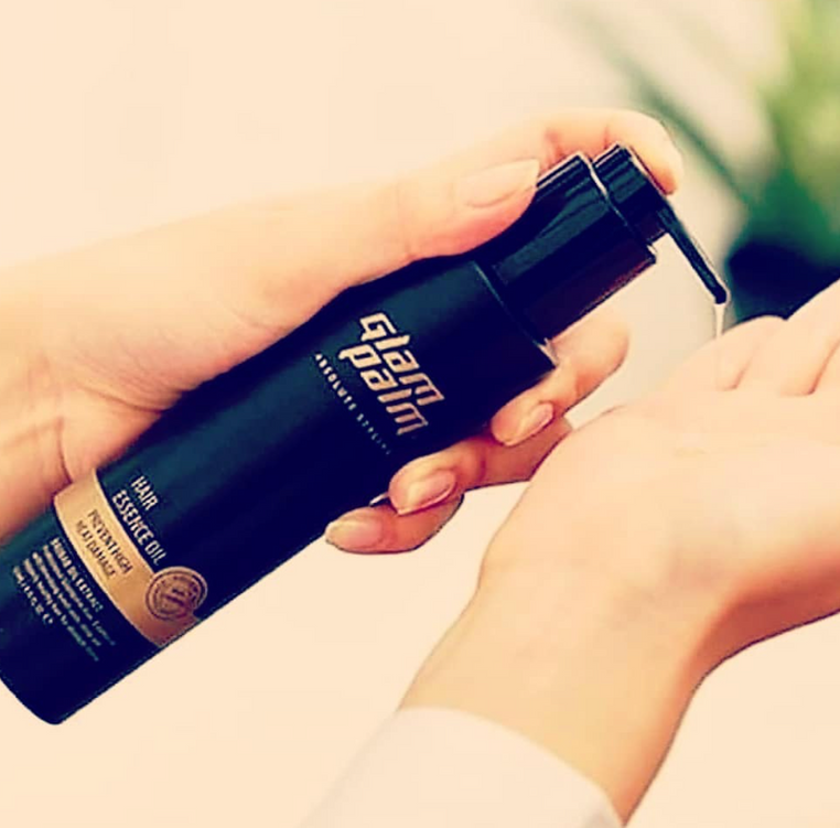 Glam Palm Heat Styling Oil