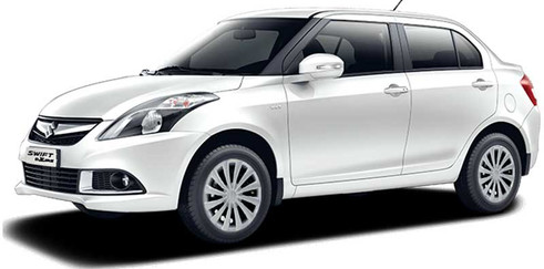 Swift Dzire 4 Seater Economy Sedan Car