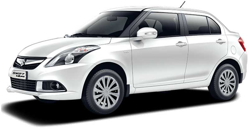 Swift Dzire 4 Seater Economy Sedan Car