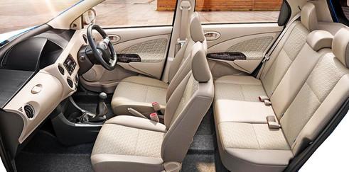 Toyota Etios Car Interior