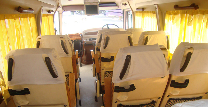 Tempo Traveller Intetior
