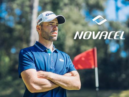 NOVACEL signe un partenariat avec le golfeur ROBIN ROUSSEL