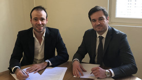 Robin Roussel signe avec Vitalépargne