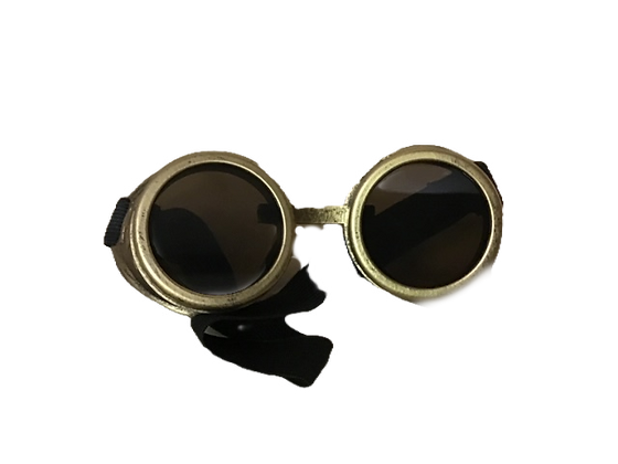 COSPLAY GOGGLES-GOLD