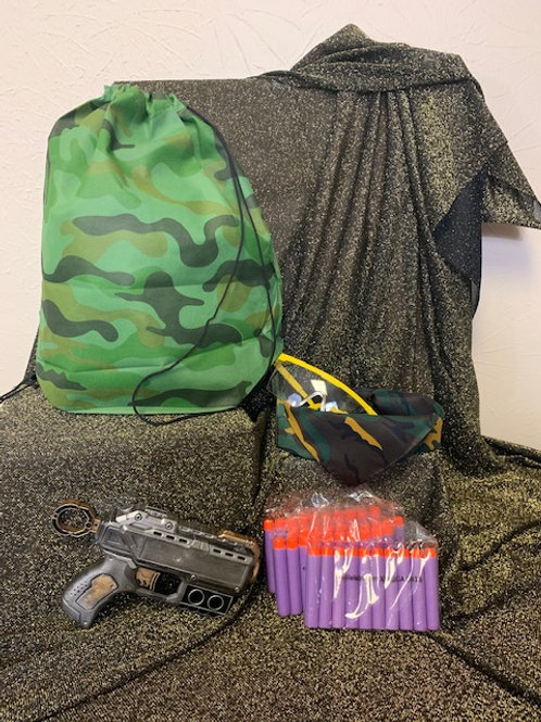 Camo Gear Packs w Blaster