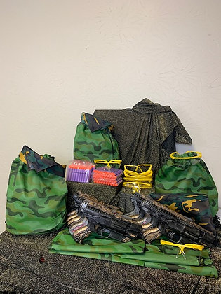 Camo Party Pack w/Blasters