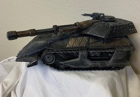 Custom Painted Power Tank