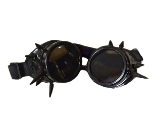 COSPLAY SPIKE GOGGLES-BLACK