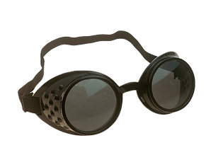 KIDSPLAY GOGGLES-BLACK