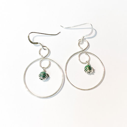 Abundantly Infinite Peace Earrings