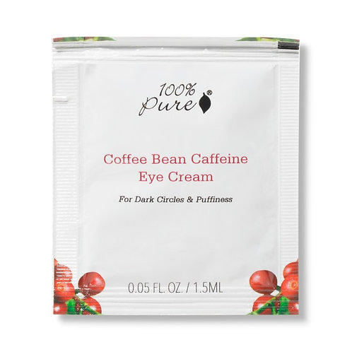 Coffee Bean Caffeine Eye Cream Sample