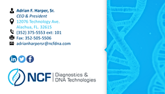 NCFDNA Business Card