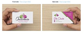 Women's Ministry Card - Mockup
