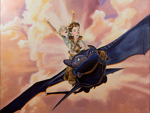 Flying  How to Train Your Dragon