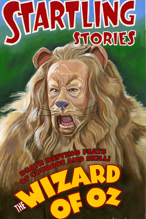 Courage! Wizard of Oz