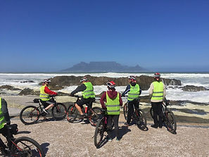 Ebike tour table bay Cape Town