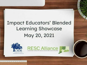 RESCs and CSDE state honor Impact Educators for Blended Learning work