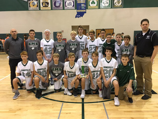 ZMS 7th Grade Wins Shootout 11/11/17