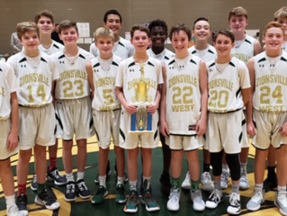Z'West 7th Grade Takes County Championship - Advances to 13-0