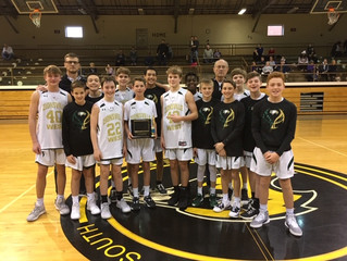 Z'West 7th Grade End a Perfect 20-0 Season with NSC Championship!!