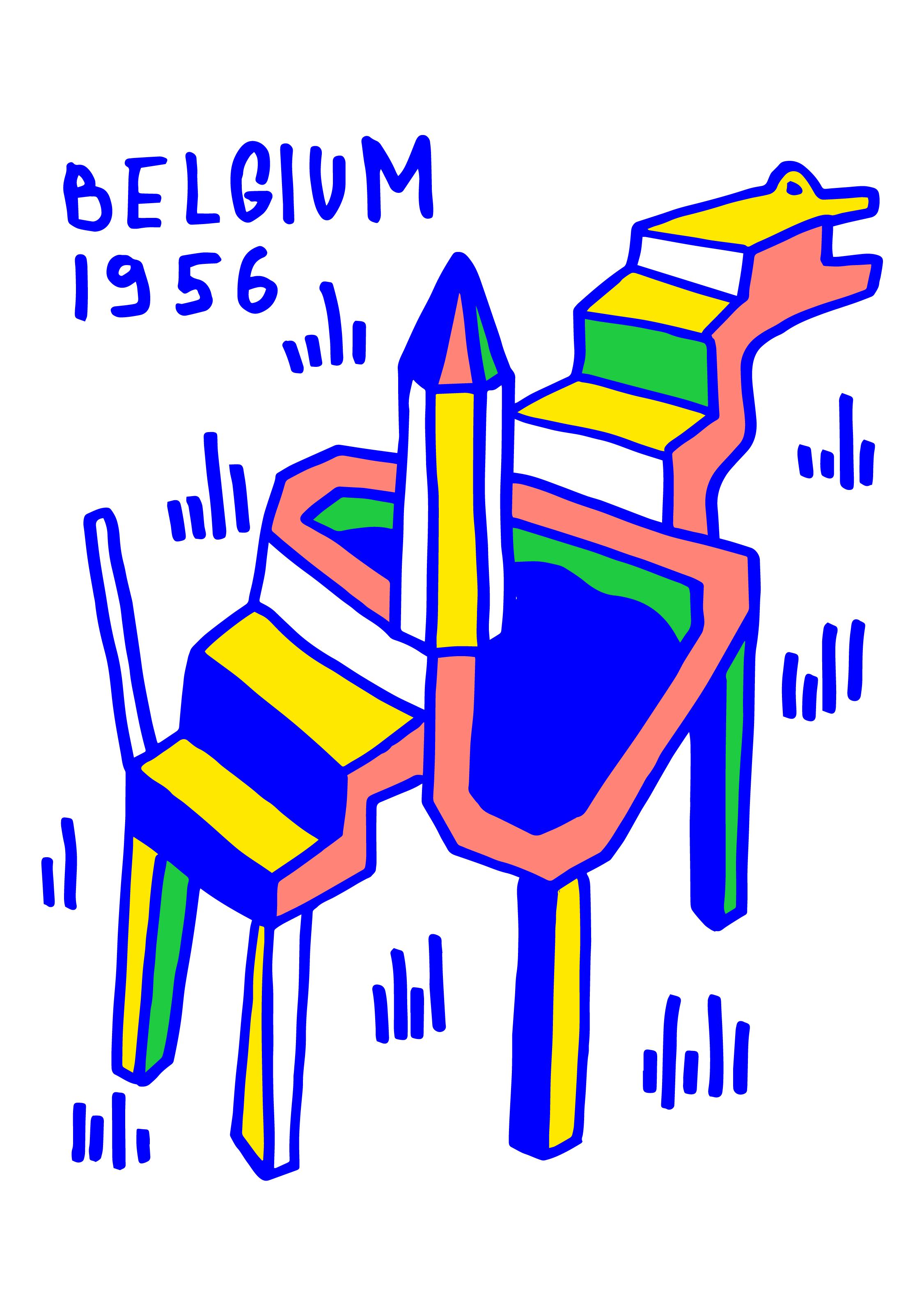 belgium 1954