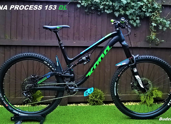 Kona Process 153 DL 2016 Full uspension Mountain Bike rrp2999