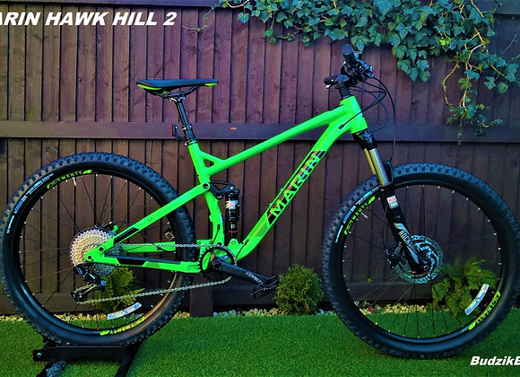 Marin Hawk Hill 2 2018 Full Suspension Mountain Bike rrp1800